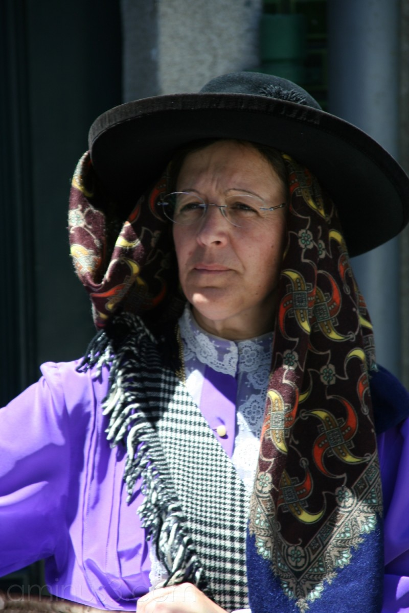The Lady from the folk group