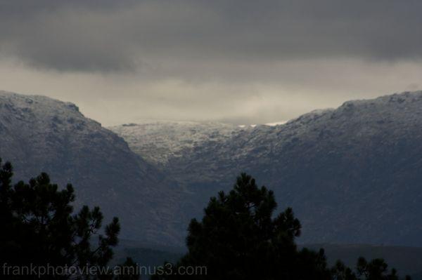"The First Snow At ""Serra da Estrela"""
