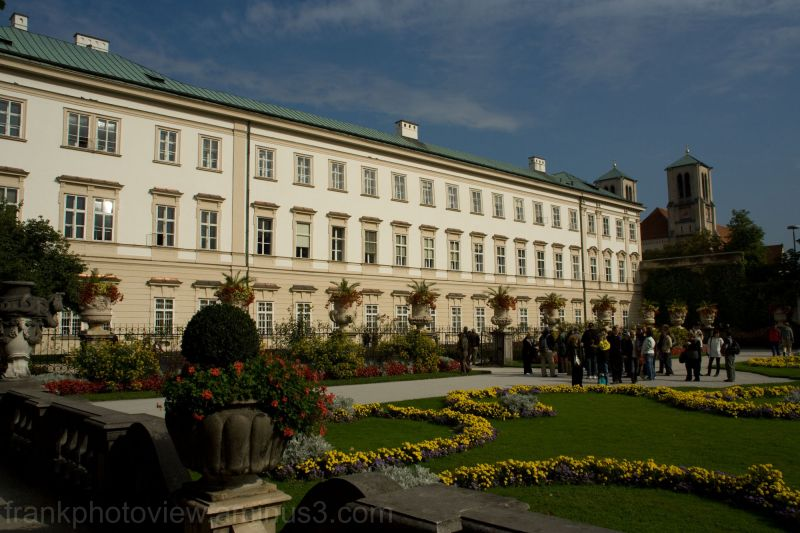 The Mirabell Palace in Salzburg