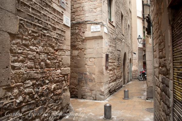 Barcelona, the gotic quarter