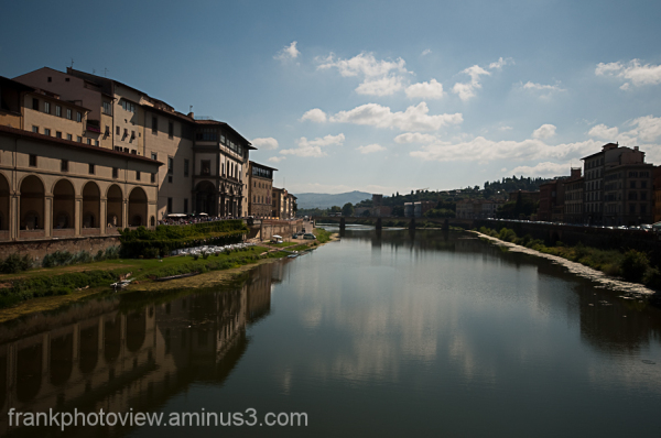 Florence, the river