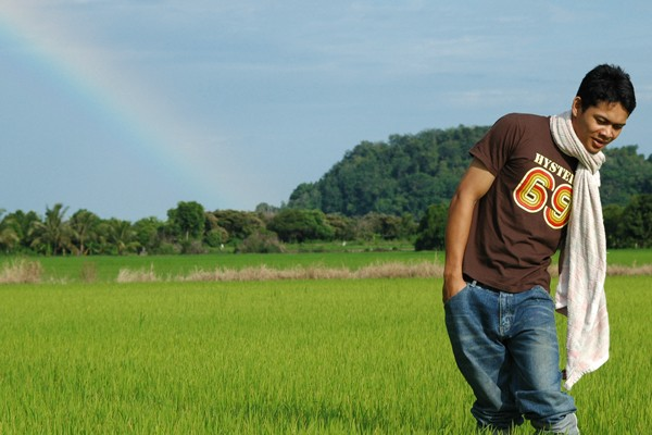 Rainbow at Paddyfield