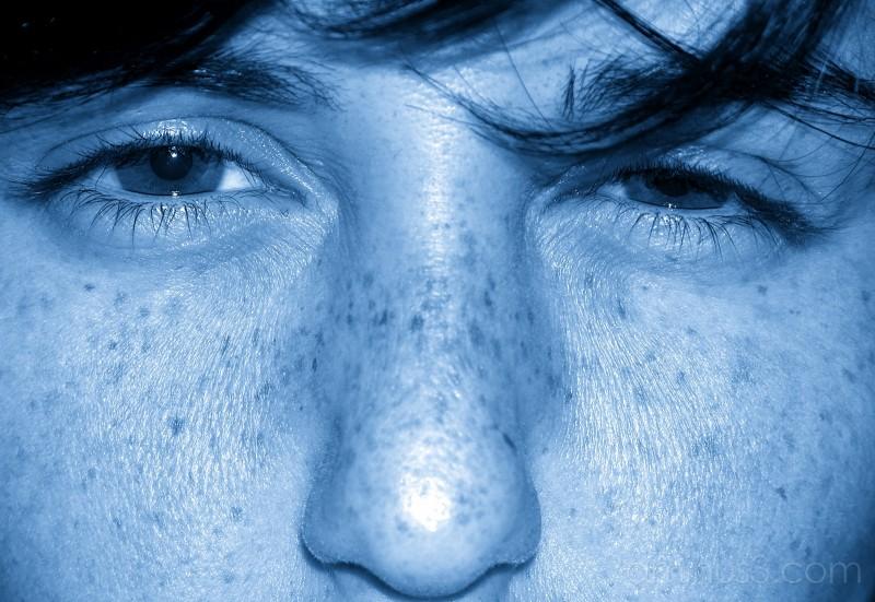 feeling blue...