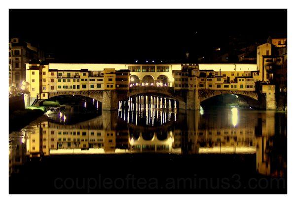 Vecchio Bridge by night