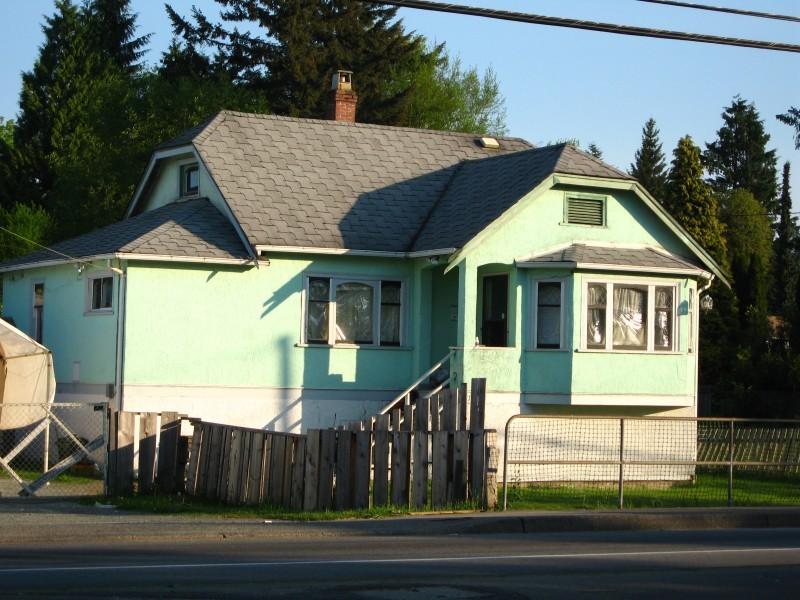 It's a blue house!