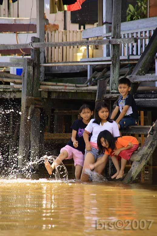 Children, Water Village