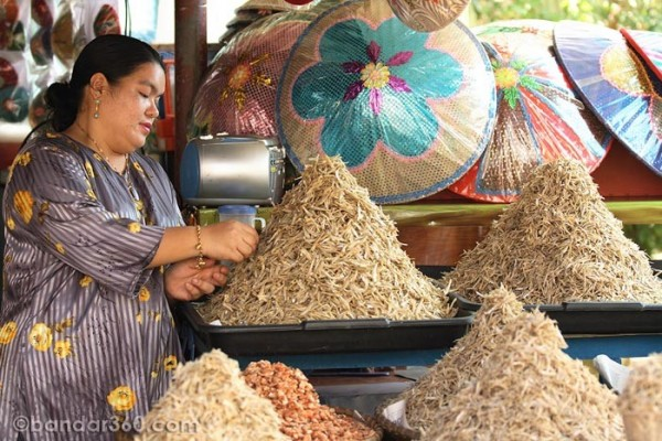 A Local Stall selling dry food