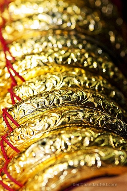 Accesories of the Brunei Weddings