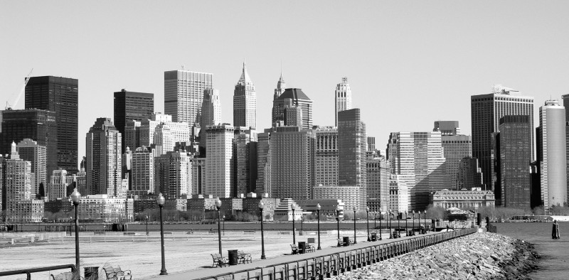 New york city skyline.