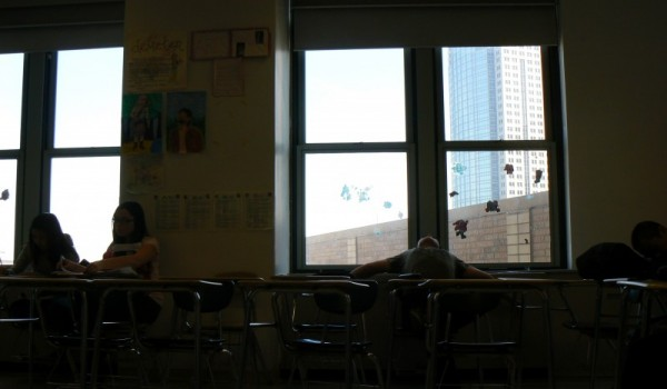 British literature class at school.