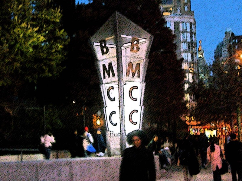 Some image manipulation of the BMCC icon.