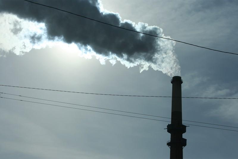 Smokestack in Chicago