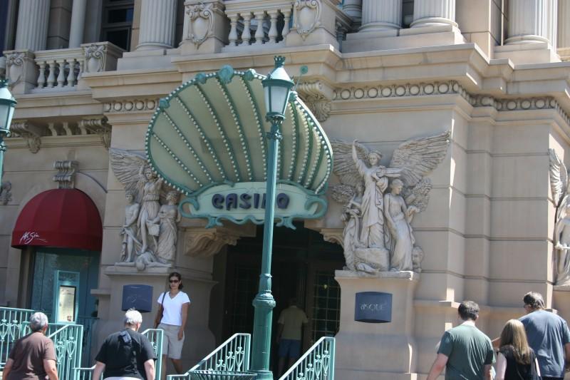 Phony Paris look on Las Vegas Casino