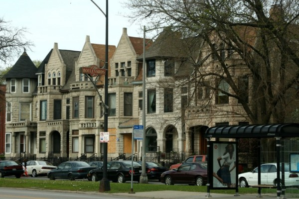 Greystone Houses on Drexel Boulevard