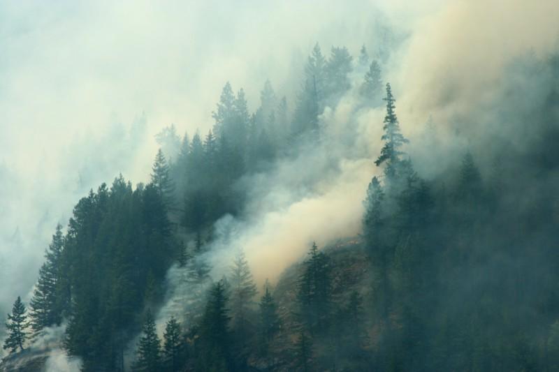 Dohmke Lake Fire near Lake Chelan