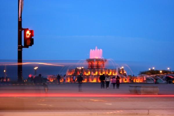 Buckingham Fountain after Dark
