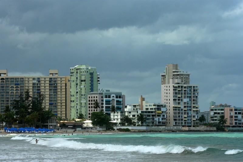 Beach in San Juan, Puerto Rico