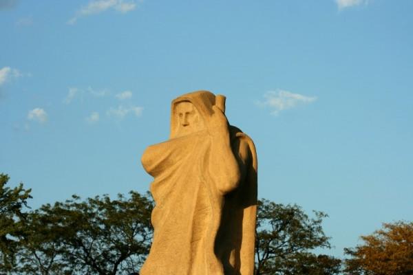 Statue detail