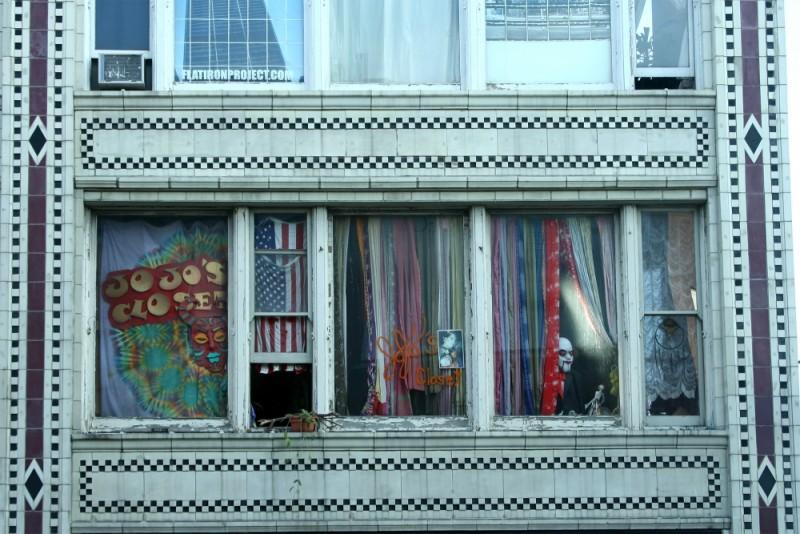 Strange objects in a Chicago Window