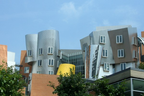 Gehry Building on MIT campus