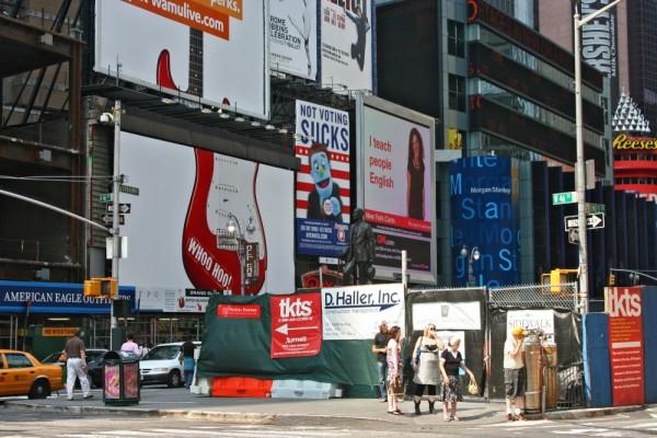 Times Square Scene