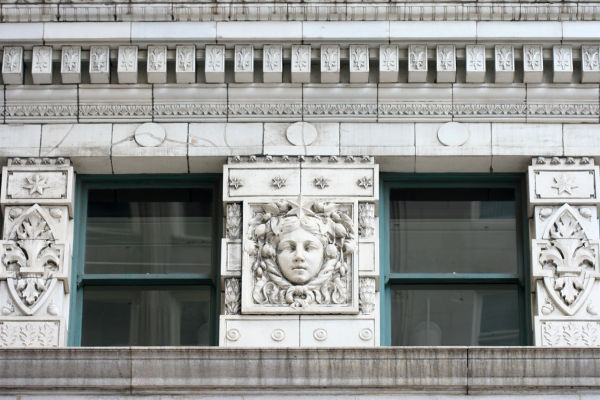 Architectural Detail, Downtown Chicago