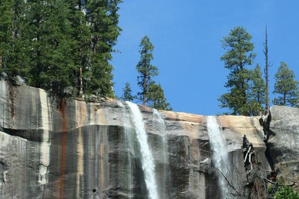 Top of Vernal Falls, Yosemite