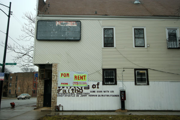 Space for rent in Chicago church