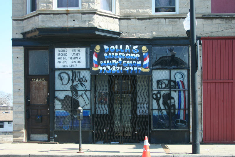 Interesting storefront in Chicago, Illinois
