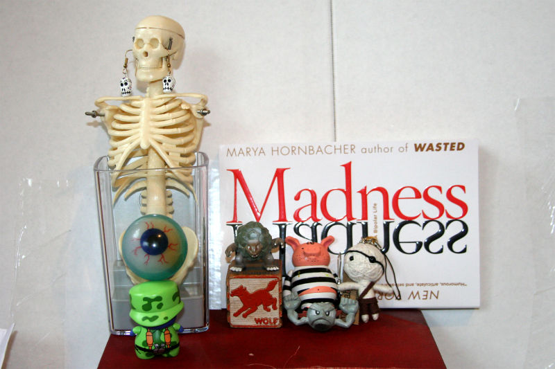 Creepy toys and Madness book