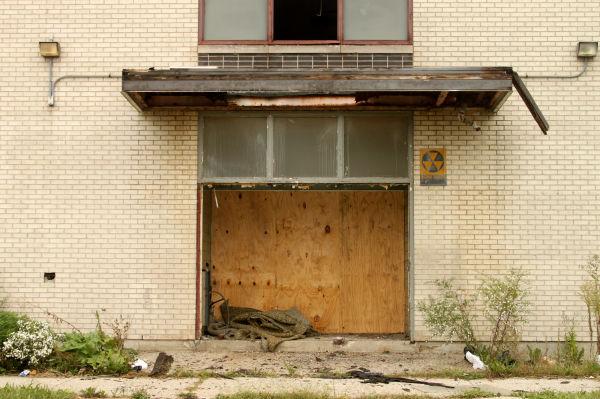 Derelict school in Chicago, Illinois
