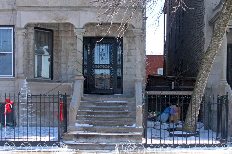Doorway and Manger
