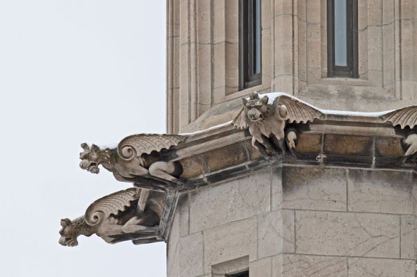 Gargoyle at the University of Chicago