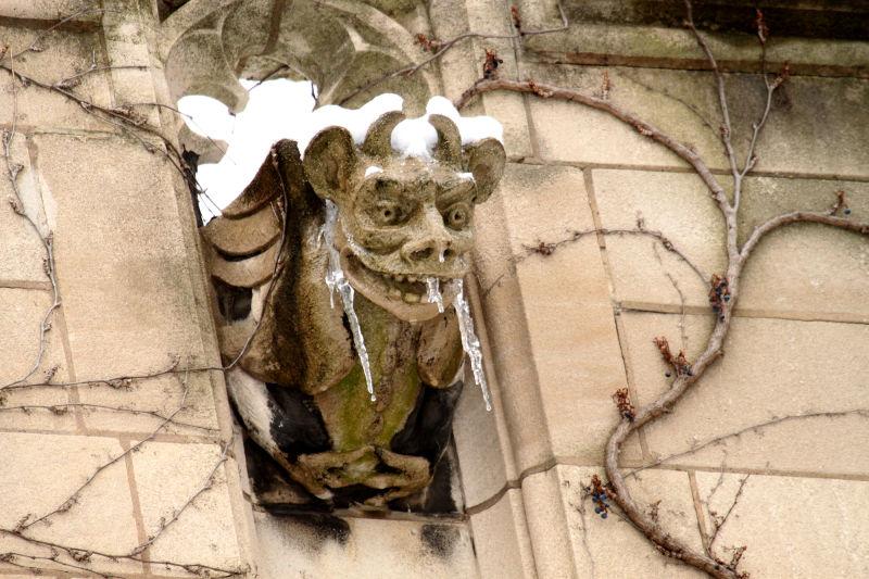 Gargoyle at the University of Chicago