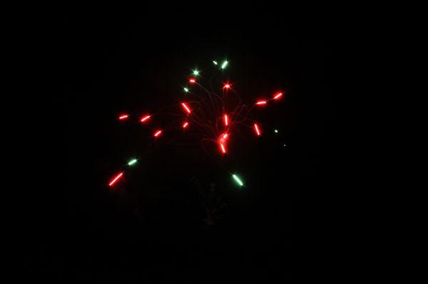 Fireworks in Warren, Vermont