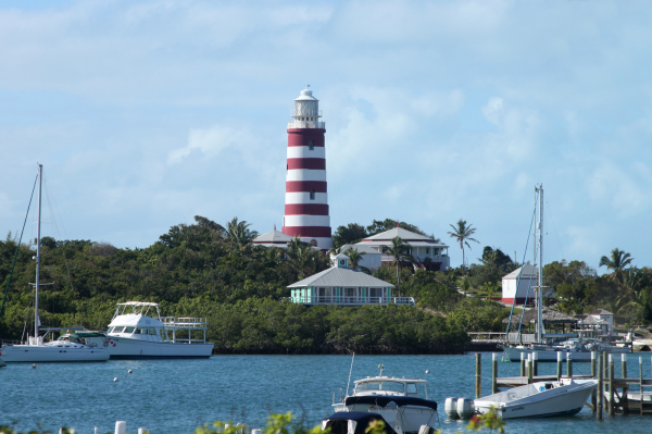 Lighthouse from Hope Town, the Bahamas