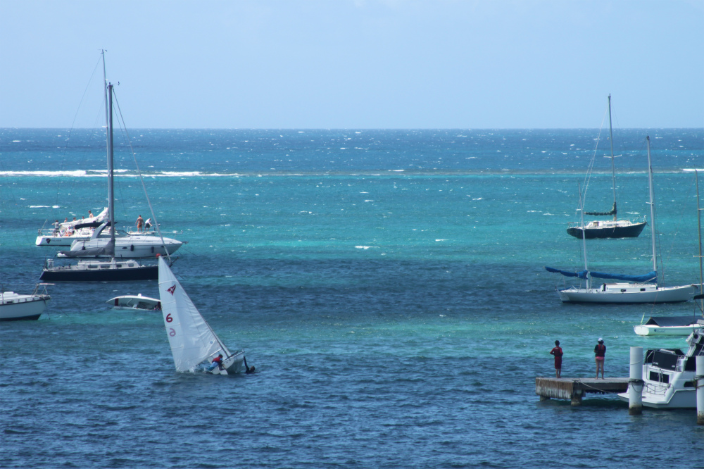 Sailing lessons in St. Croix