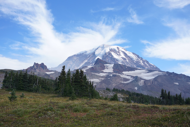 Mount Rainier from Spray Park