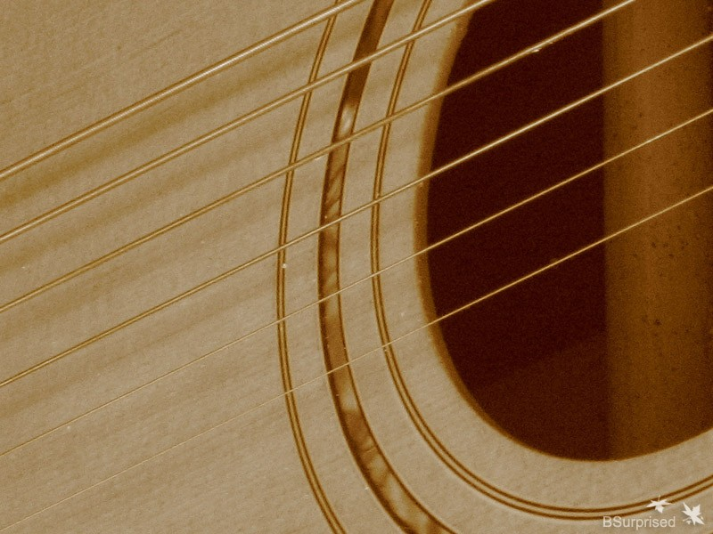 Strings in Sepia