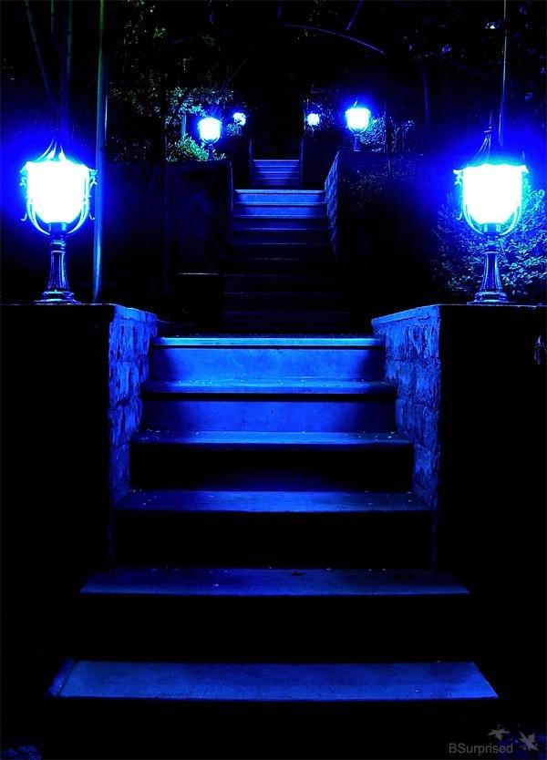 Blue Stairway to Darkness