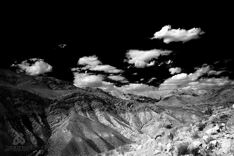 Rudafshan View (BW)
