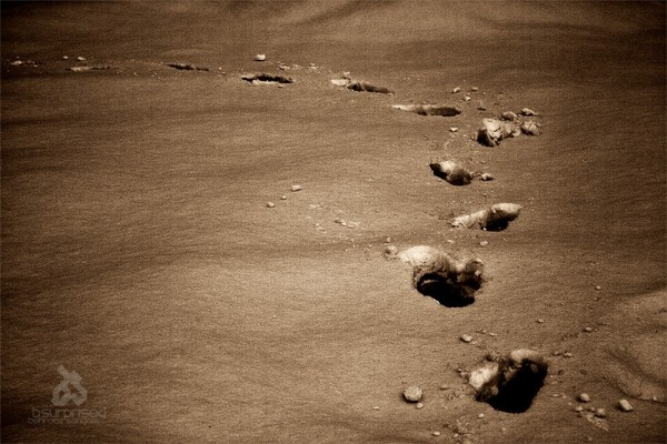 Footsteps on Mars