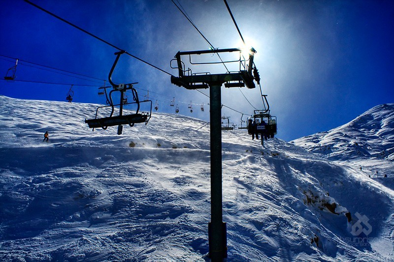 Chairlift Trip to the Sun