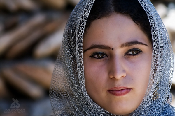 Young Kurdish Lady