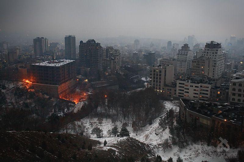 Cold Tehran Evening
