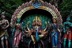 Indian Temple at Batu Caves