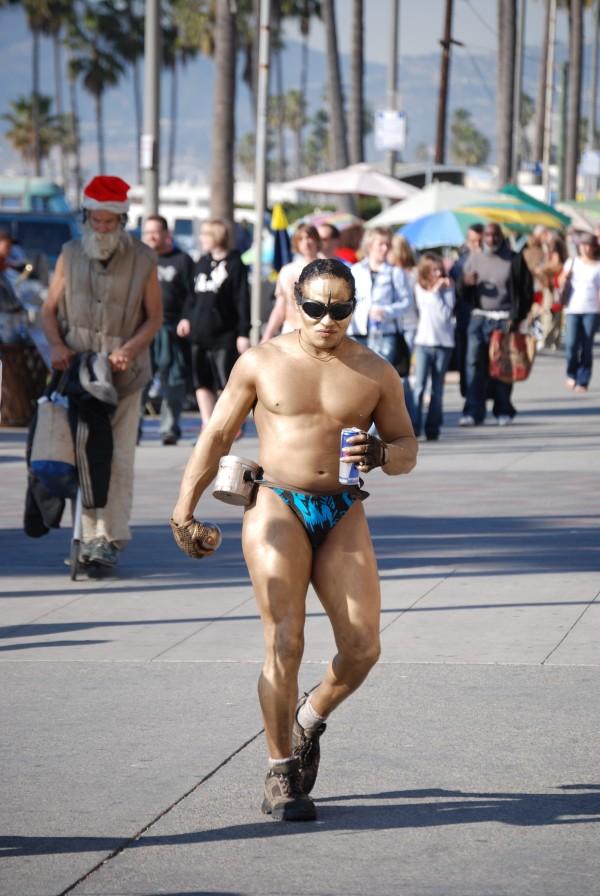 crazy motherfucker venice beach exibisionist