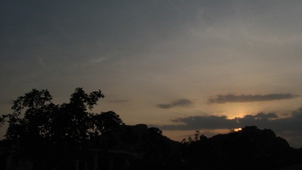 Ambur sunset