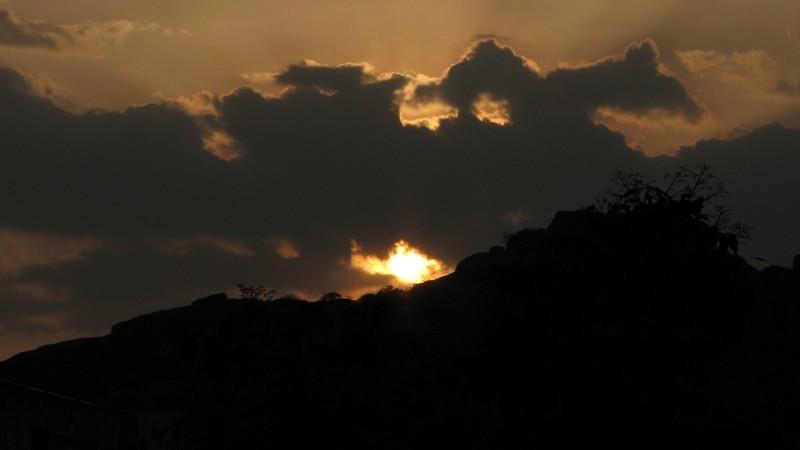 Ambut sunset