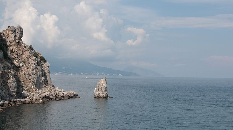 Crimea. A view to Bolshaya Yalta Area